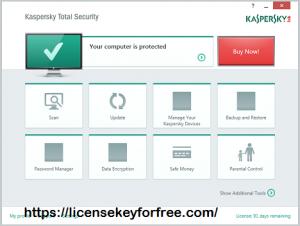 Kaspersky Total Security 21.3.10.391 Crack Latest