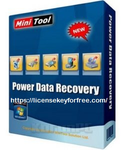 MiniTool Power Data Recovery 8.7 Crack With Serial Key 2020